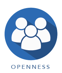 Openness core value graphic