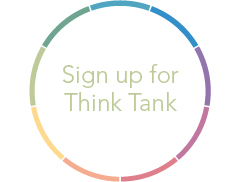 Sign up for think tank button