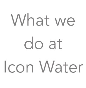 What we do at Icon Water