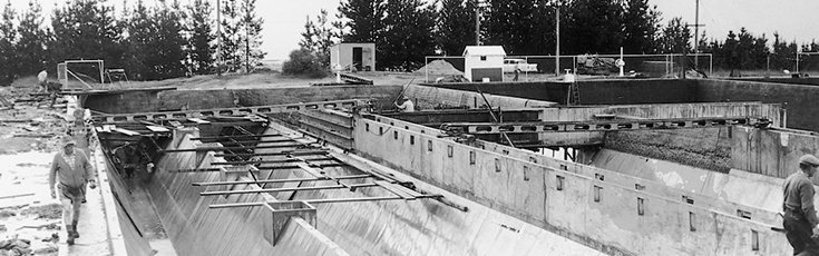 Mt Stromlo Water Treatment Plant Construction