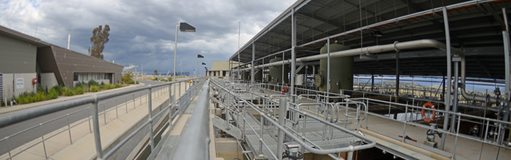 Lower Molonglo Water Quality Control Centre infrastructure