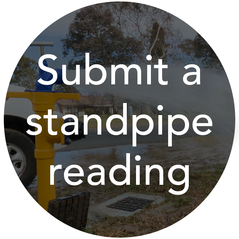 Submit a standpipe reading