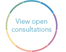 Open consultations button