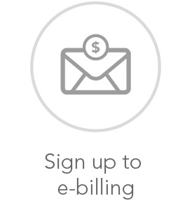 Sign up to email billing