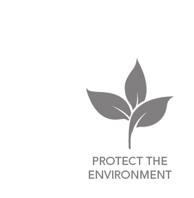 Find out how we protect the environment