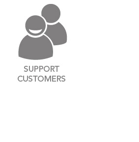 Supporting customers is another big part of what we do at Icon Water