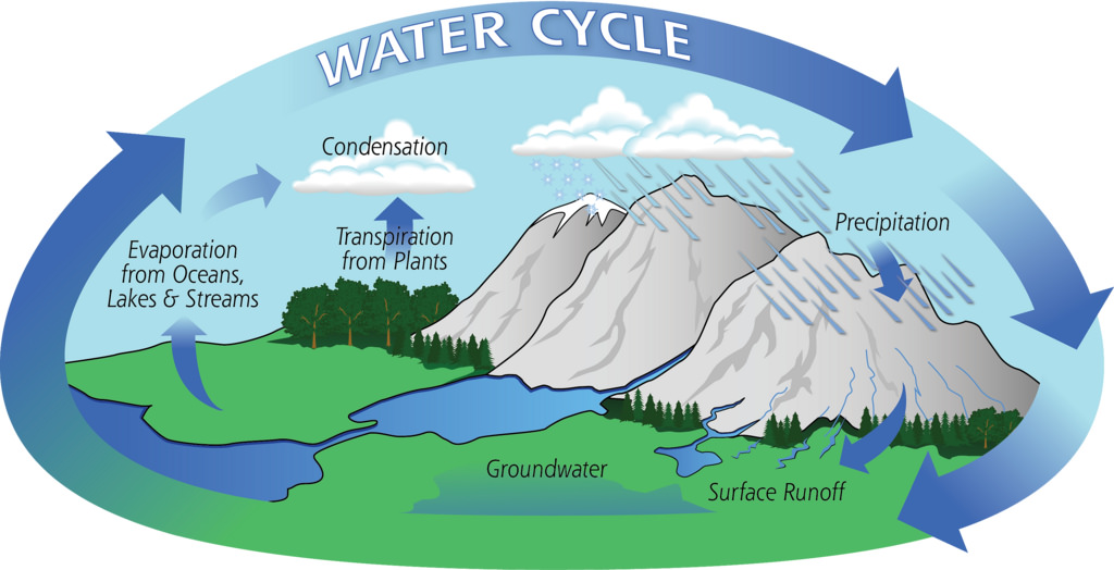 The Natural Water Cycle Icon Water