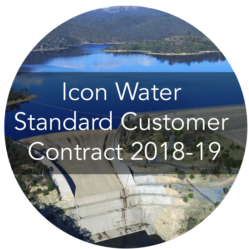 Icon Water Standard Customer Contract 2018-19