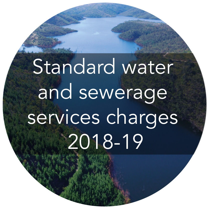 Standard water and sewerage service charges 2018-19